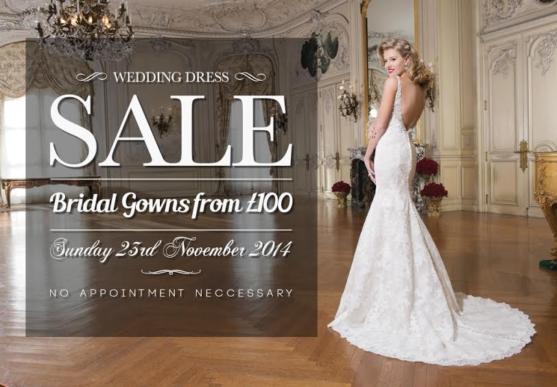 London bride 39 s wedding dress sample sale november 2014 for Wedding dress for sale used