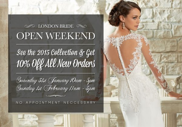 ondon Bride Open Weekend 2015
