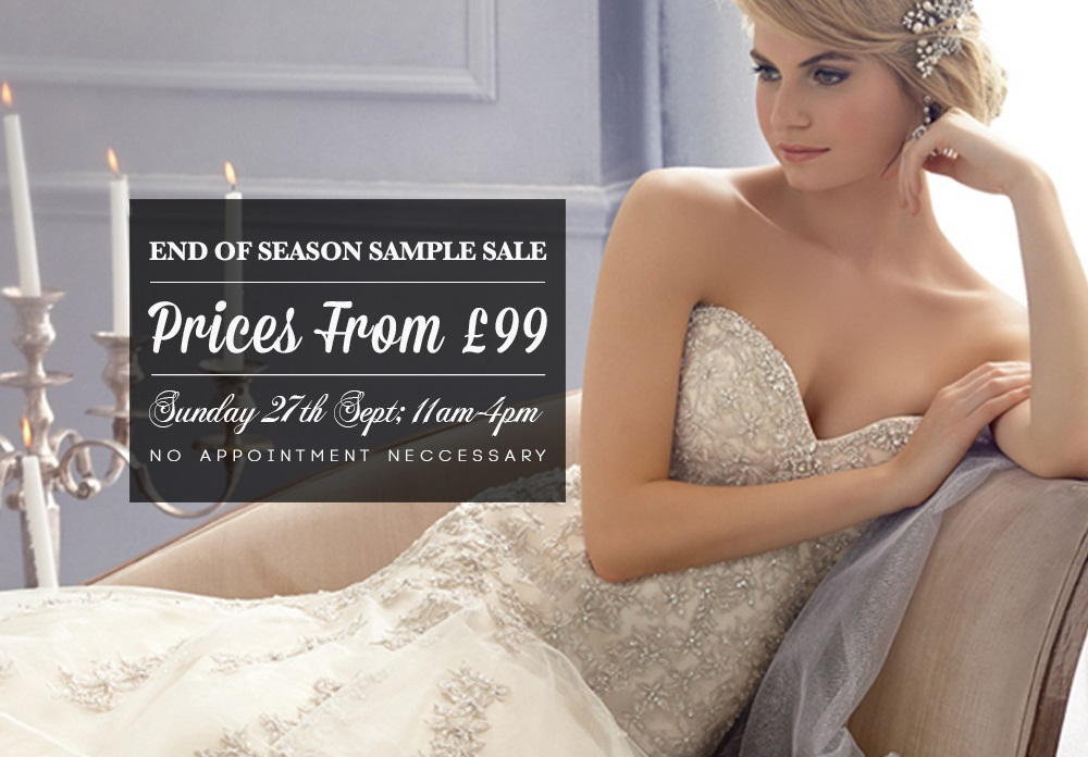London Bride Sample Sale September 2015