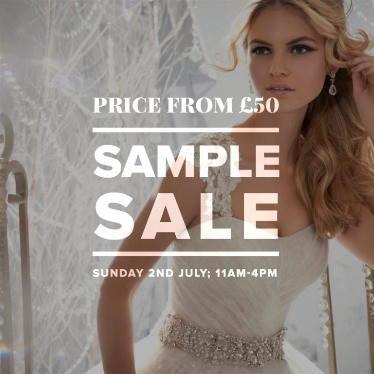 wedding dress sle sale july 2017 london uk