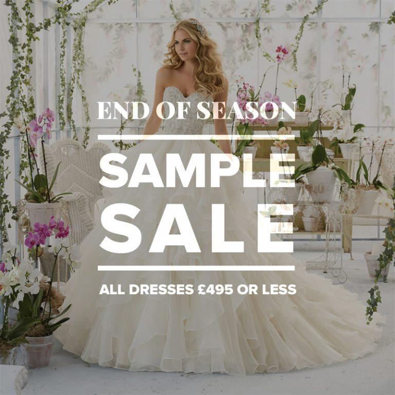 Wedding Dress Sample October 1st 2017