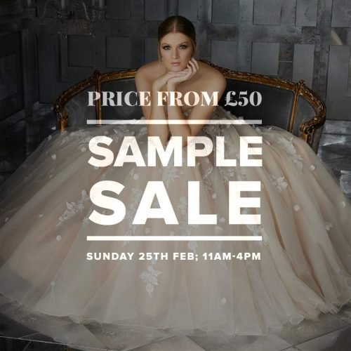 Mid Season Sample Sale - prices from £50!