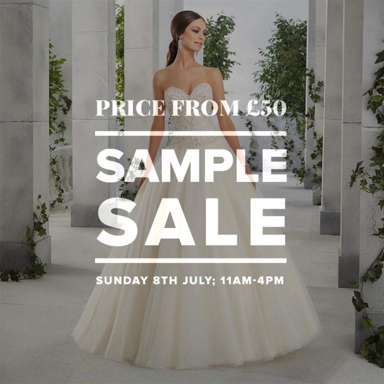 Wedding Dress Sample Sale July 2018 - London Bride UK