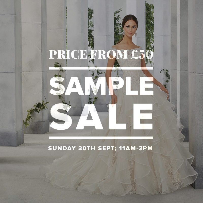 Wedding Dress Sample Sale September 2018 London Bride Uk