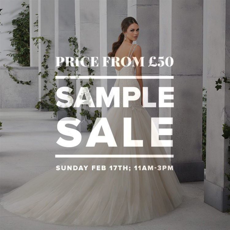Wedding Dress Sample Sale February 2019
