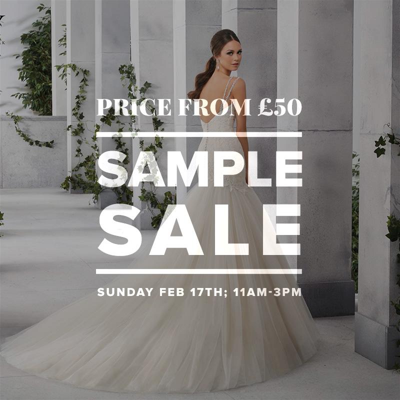 Wedding Dress Sample Sale February 2019 London Bride Uk
