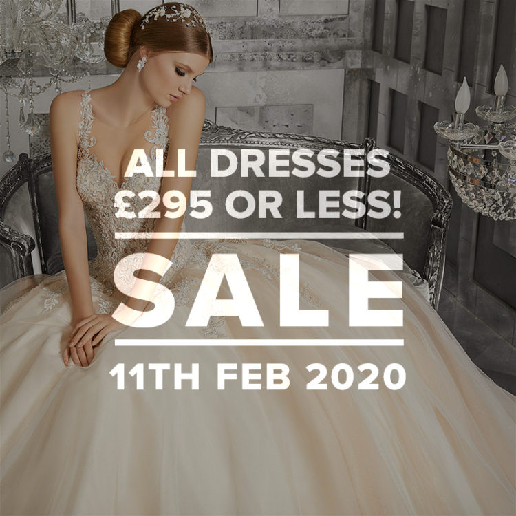 Mid Week Sample Sale - all dresses £295 and under!
