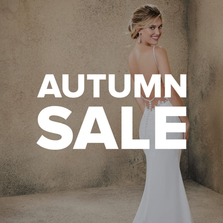 Autumn Sale at London Bride - 15% off all wedding dresses