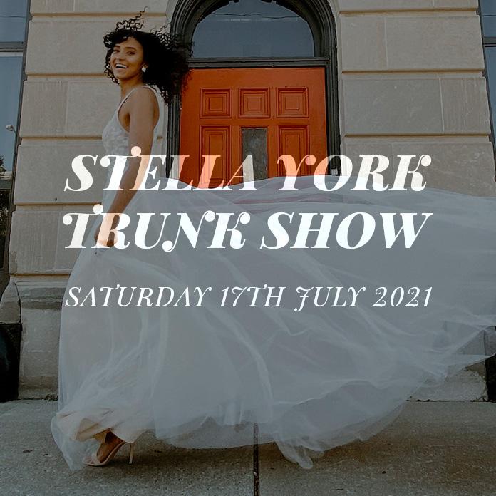 Stella York Trunk Show July 2021