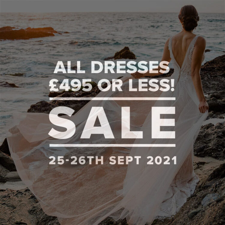 Autumn Sample Sale at London Bride- 25th and 26th September 2021